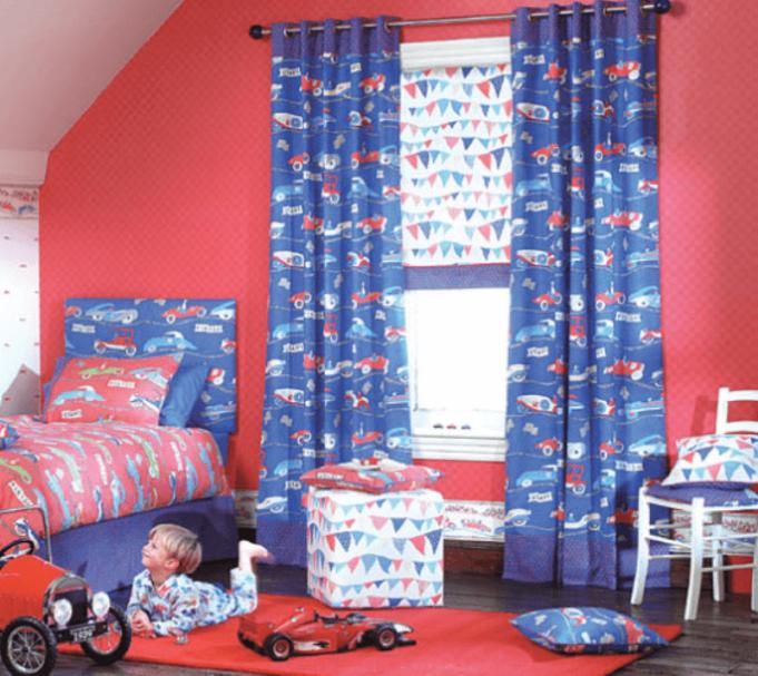 Оригинальные шторы в детскую