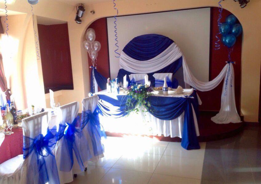Декор штор для свадьбы